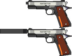 メタルギアソリッド3 - MEDIAGUN DATABASE M1911 Custom Mgs4