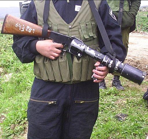 イスラエル国境警備隊が持つM201-Z