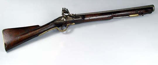 イギリス製 フリントロック式ラッパ銃