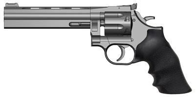 ダン・ウェッソンリボルバー M715 6インチバレル