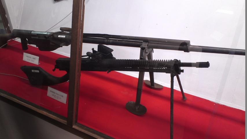 十一年式軽機関銃(陸上自衛隊真駒内駐屯地展示品)
