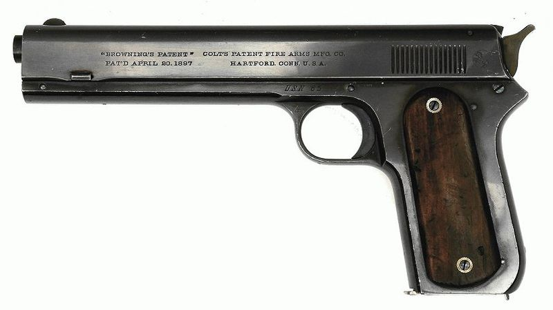 コルト M1900 海軍発注モデル