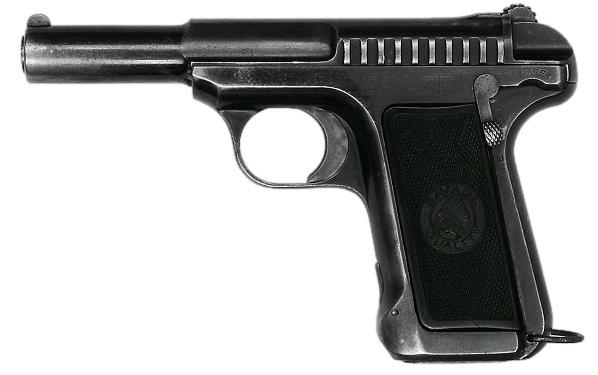 M1907のフランス軍採用モデル