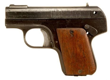 M1908の無可動実銃