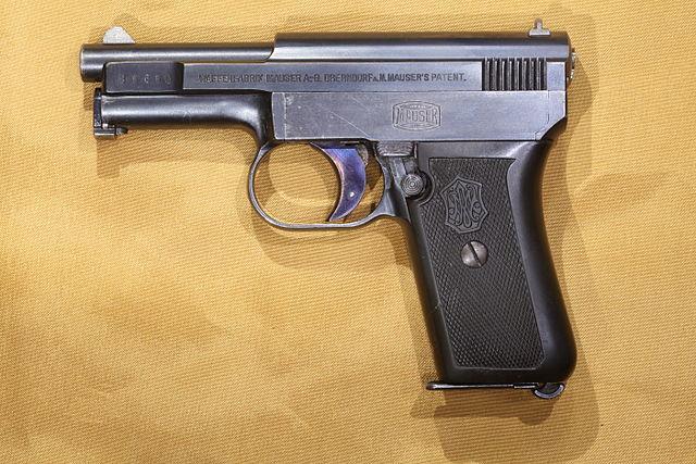 マウザー M1910 後期生産モデル
