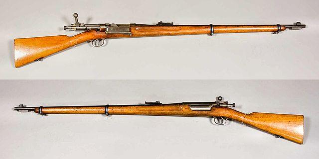 クラッグ・ヨルゲンセン M1892 試作型