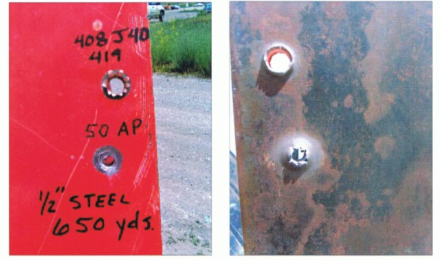 .408CT弾と.50BMG(M8API)との比較